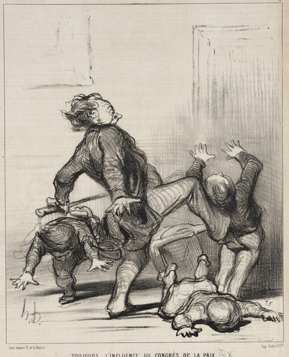 Honoré Daumier~Toujours l'influence - Classical art