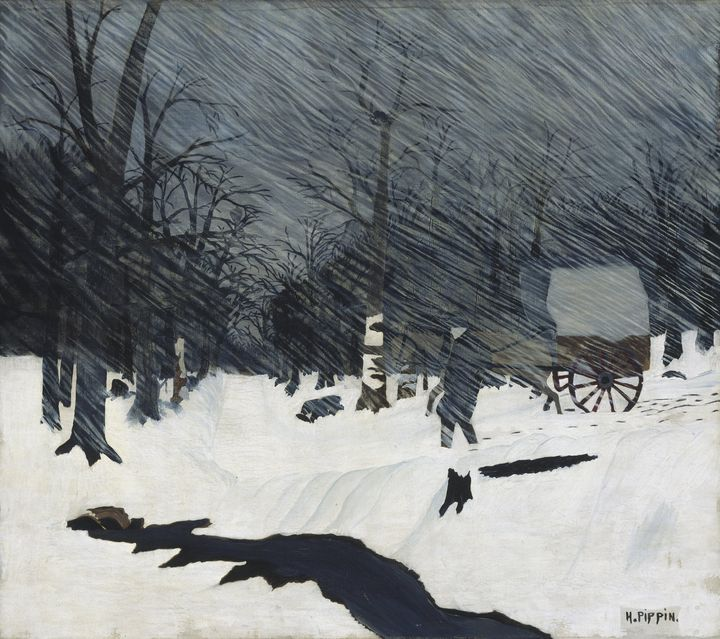 Horace Pippin~Country Doctor (Night - Classical art