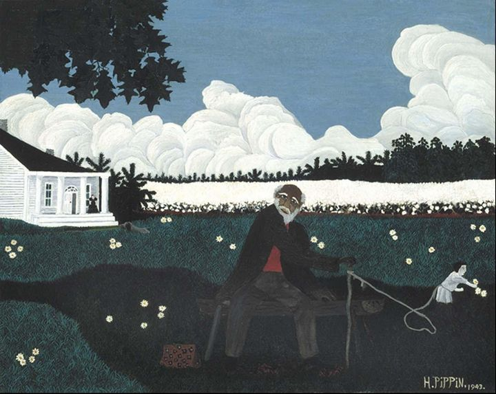 Horace Pippin~Old Black Joe - Classical art