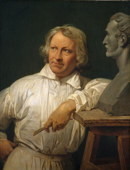 Horace Vernet~Bertel Thorvaldsen (17 - Classical art