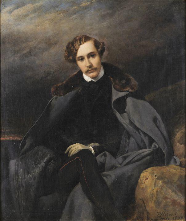 Horace Vernet~Ritratto del Principe - Classical art