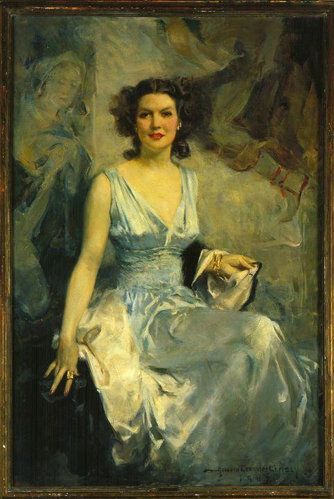 Howard Chandler Christy~Elise Ford - Classical art
