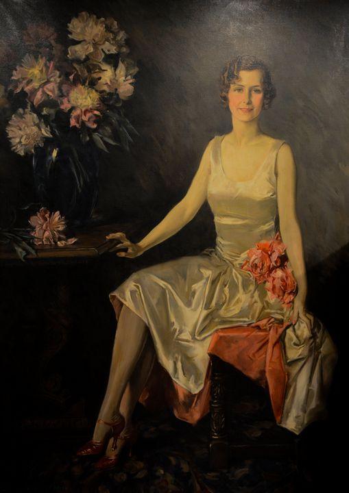 Howard Chandler Christy~Portrait of - Classical art