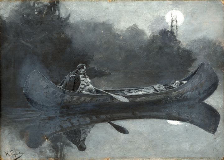 Howard Pyle~�My hatred of him seemed - Classical art