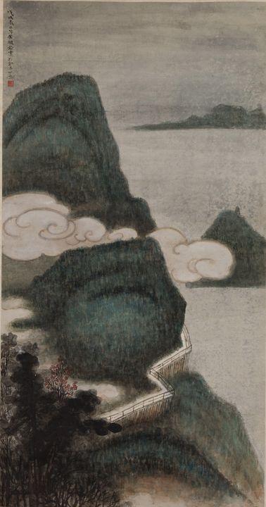 Huang Bore~Victoria Peak - Classical art