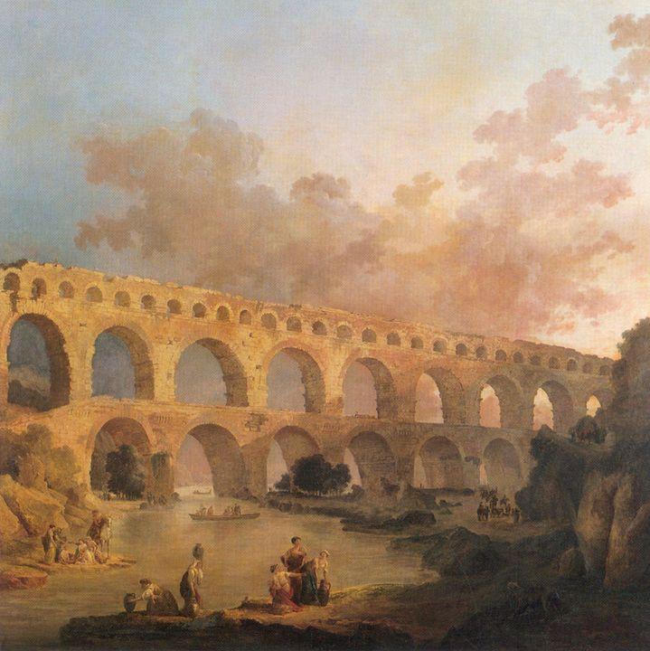 Hubert Robert~Peinture - Classical art