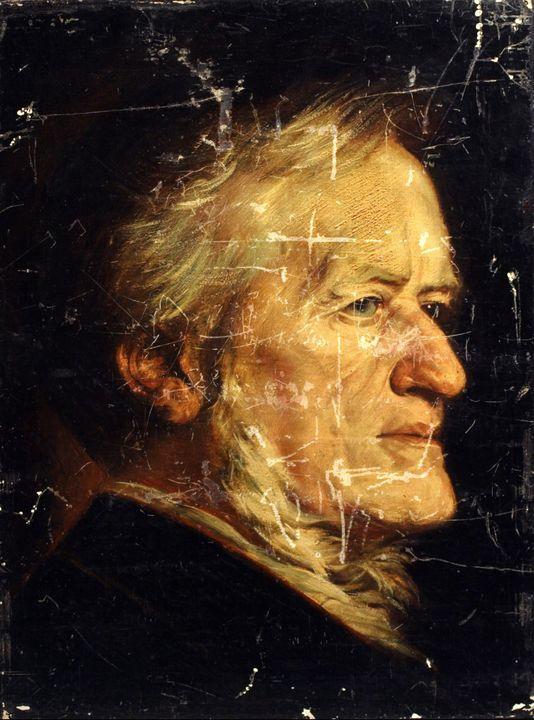 Hubert von Herkomer~Richard Wagner - Classical art