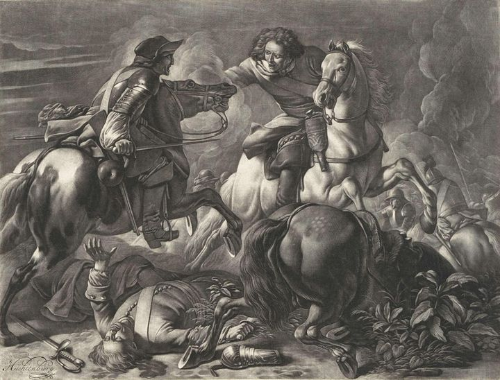 Huchtenburg~Ruitergevecht - Classical art