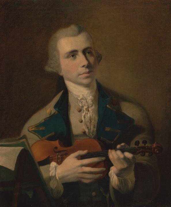 Hugh Baron~Portrait of a Man, Probab - Classical art