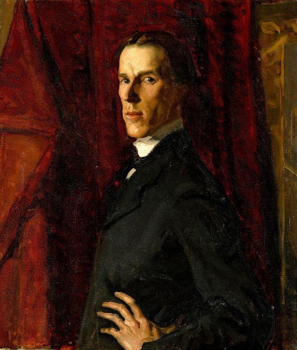 Hugh Ramsay~Self-portrait - Classical art