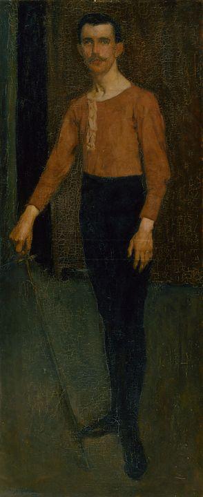 Hugh Ramsay~The foil - Classical art