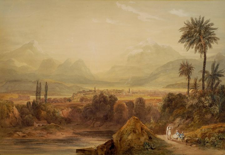 Hugh William Williams~View of Thebes - Classical art