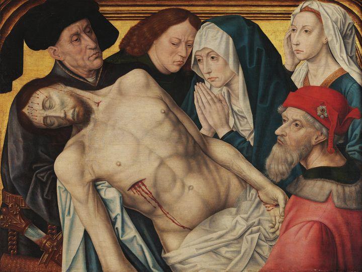 Hugo van der Goes (copy)~Pietà - Classical art