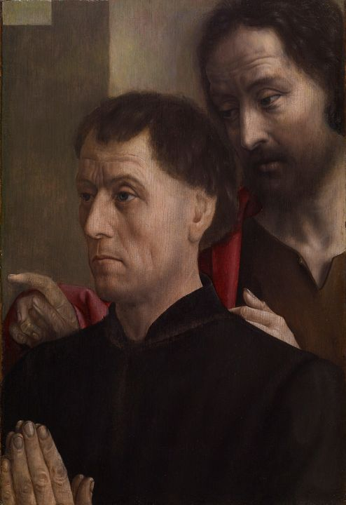 Hugo van der Goes~Portrait of a Man - Classical art