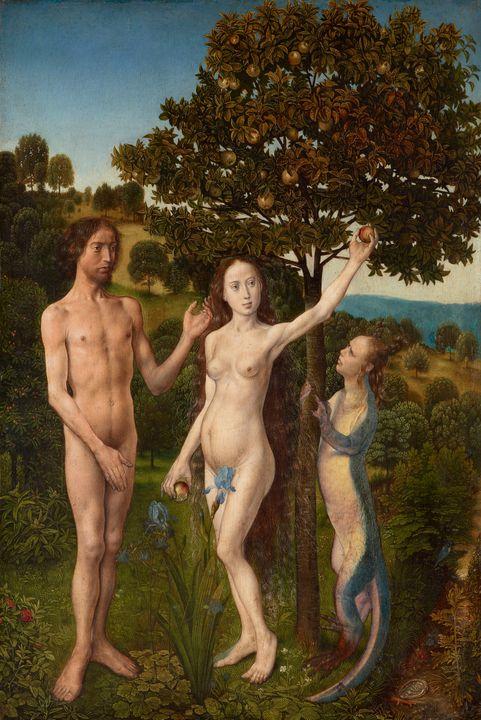 Hugo van der Goes~The Fall of Man an - Classical art