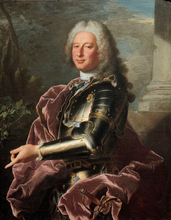 Hyacinthe Rigaud~Gio. Francesco II B - Classical art