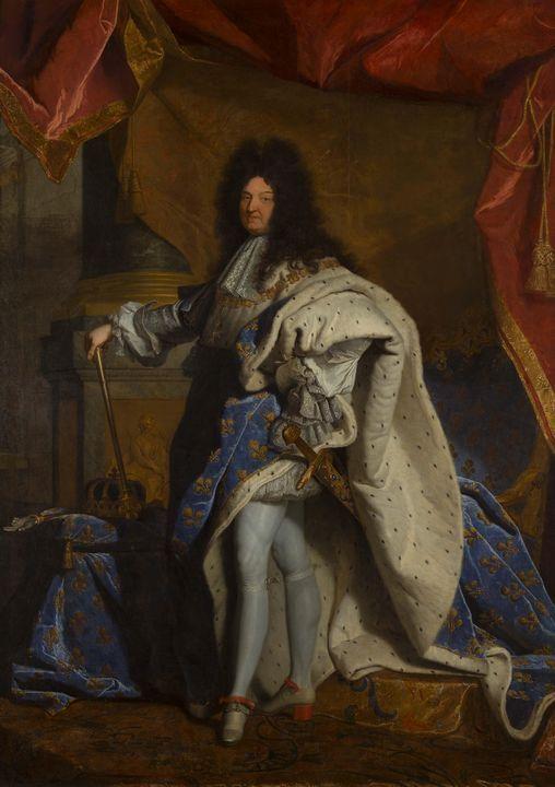 Hyacinthe Rigaud~Louis XIV, king of - Classical art