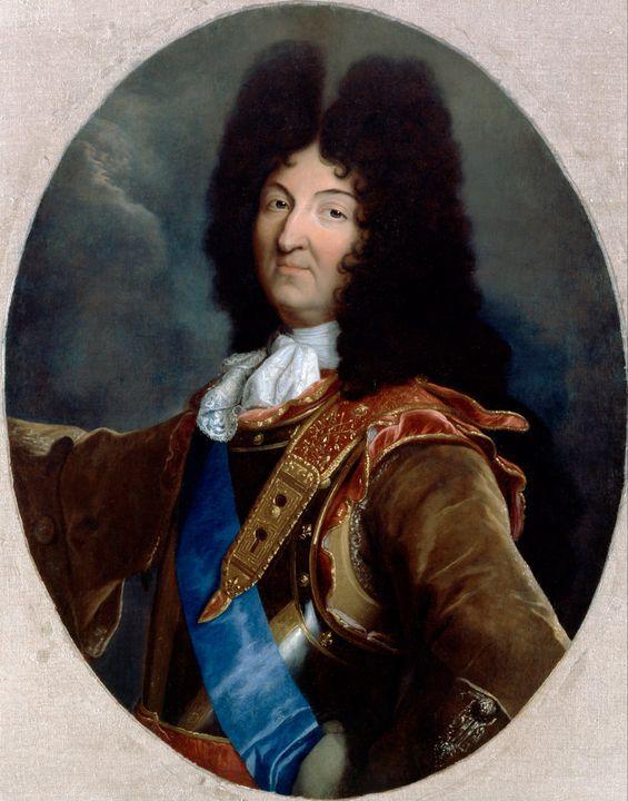 Hyacinthe Rigaud~Louis XIV - Classical art