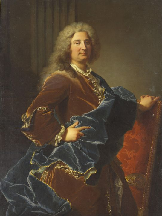 Hyacinthe Rigaud~Portrait of the Mar - Classical art