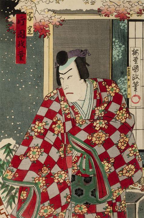 Ichijusai Kunimasa~Kabuki Actor - Classical art