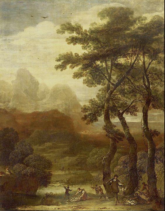 Ignacio de Iriarte~Landscape with Hu - Classical art