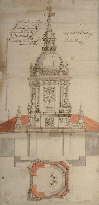 Ignacio de Ybero~Ground plan and ele - Classical art