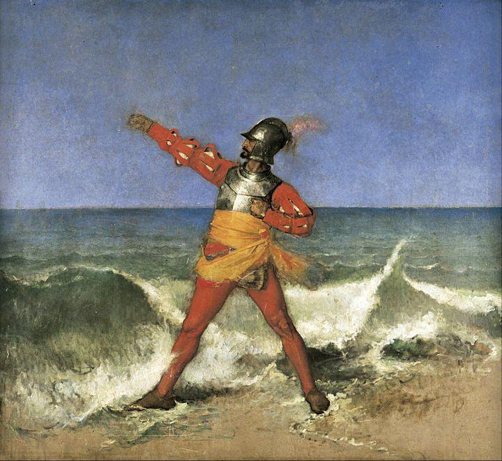 Ignacio Merino~Pizarro tomando poses - Classical art