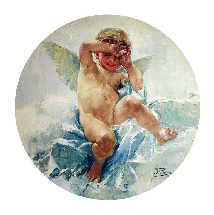 Ignacio Pinazo Camarlench~Amorcillo - Classical art