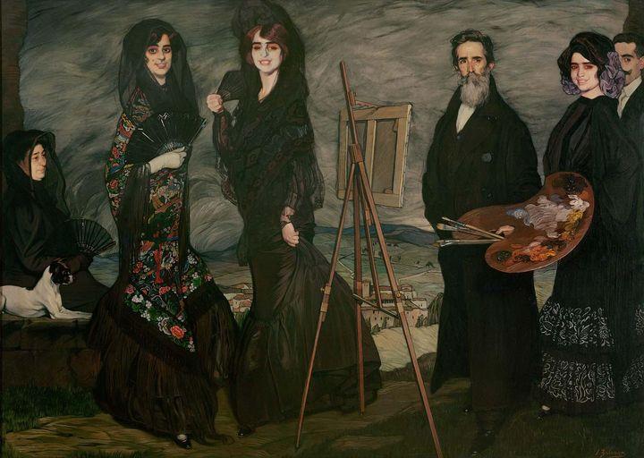 Ignacio Zuloaga~My Uncle Daniel and - Classical art