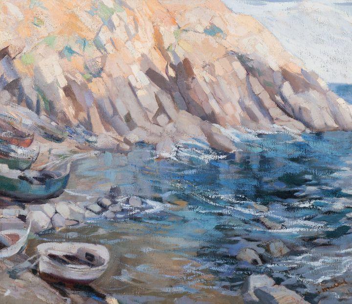 Ignasi Mallol i Casanovas~Marine - Classical art