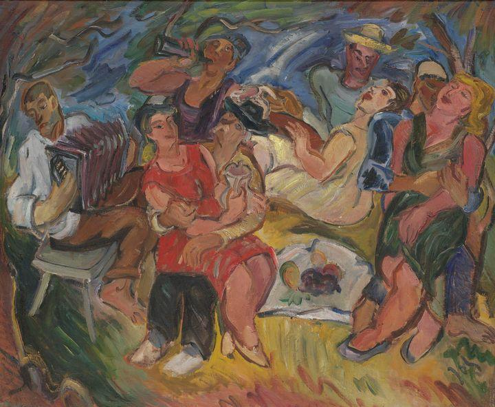 Ignjat Job~Sunday - Classical art
