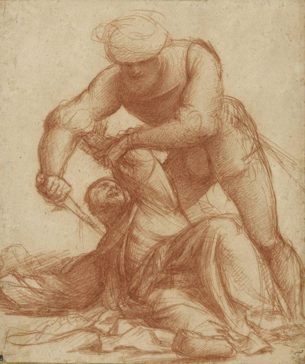 Il Pordenone~Study of the Martyrdom - Classical art