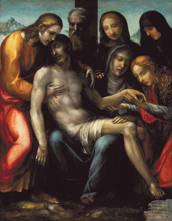 Il Sodoma~Llanto por Cristo muerto - Classical art