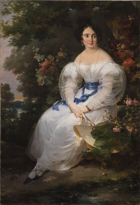 Hortense Haudebourt-Lescot~Young Wom - Classical art
