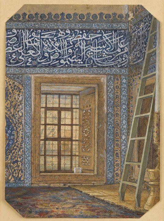 Huseyin Zekai Pasha~Üsküdar Atik Val - Classical art