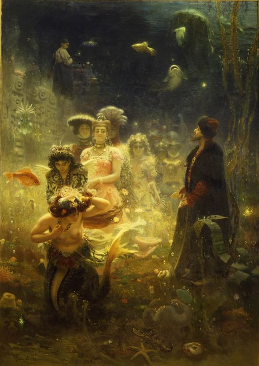 Ilya Repin~Sadko - Classical art