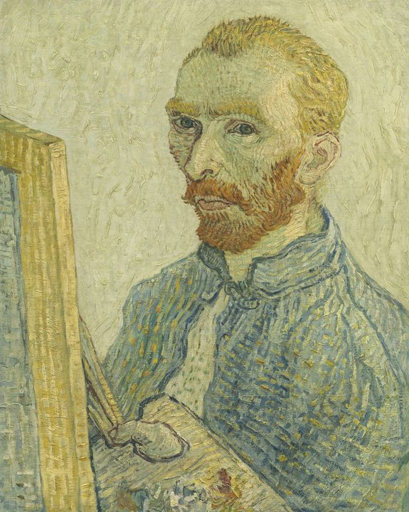 Imitator of Vincent van Gogh~Portrai - Classical art