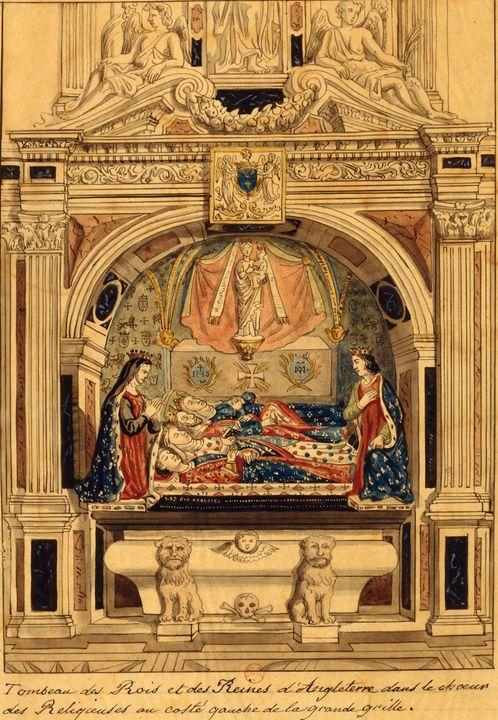 Inconnu~Gravure représentant le maus - Classical art