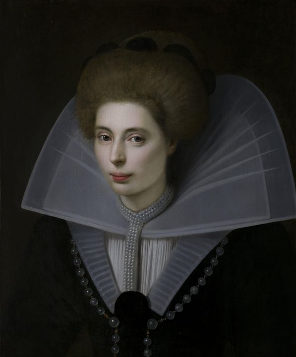 inconnu~Portrait de femme - Classical art