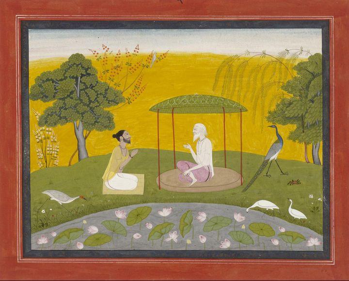 Indian~Markandeya Refers Jaimuni to - Classical art