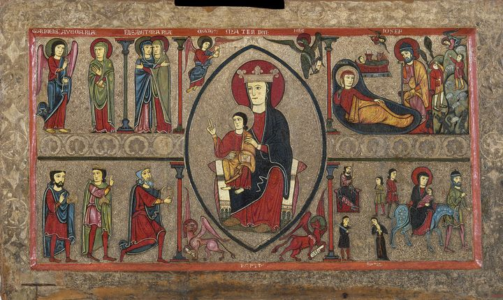 Iohannes~Altar frontal from Cardet - Classical art