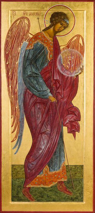 Irina Bradley~The Archangel Michael - Classical art