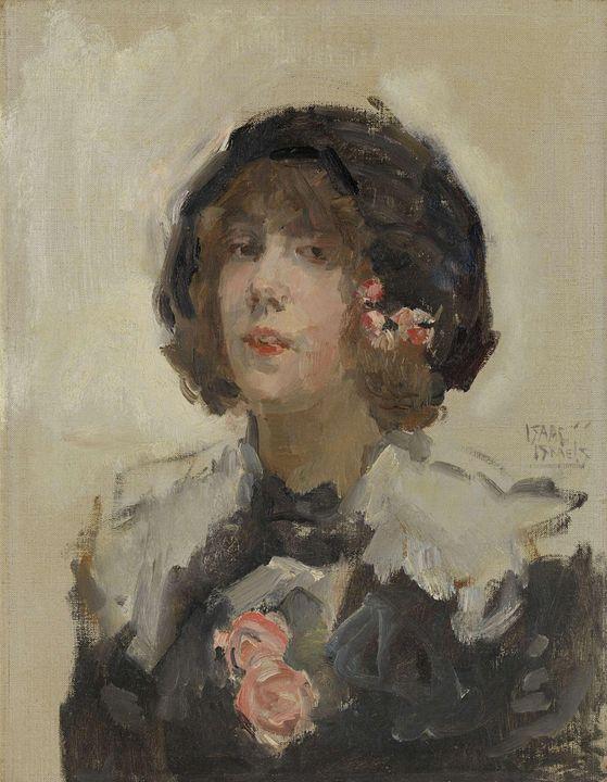 Isaac Israëls~Portrait of a Woman - Classical art