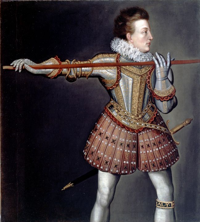 Isaac Oliver~Henry, Prince of Wales - Classical art