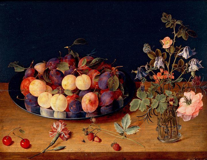 Isaac Soreau~Still Life with Fruit - Classical art