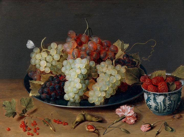 Isaac Soreau~Still Life with Fruit99 - Classical art