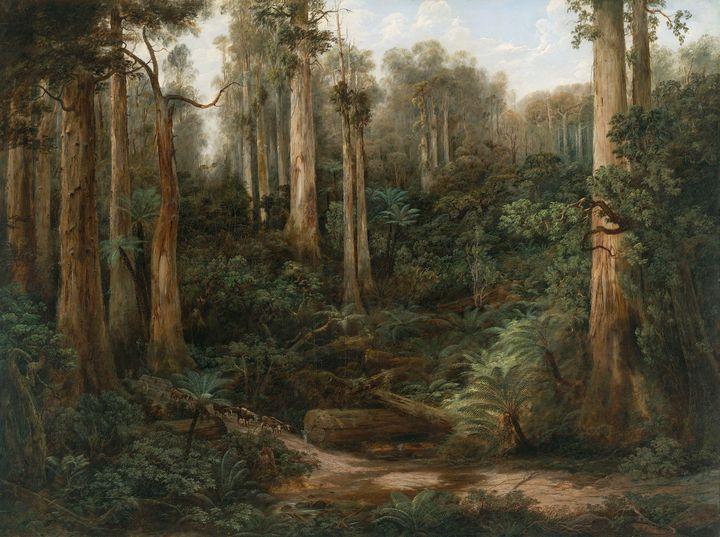 Isaac Whitehead~A Sassafras Gully, G - Classical art