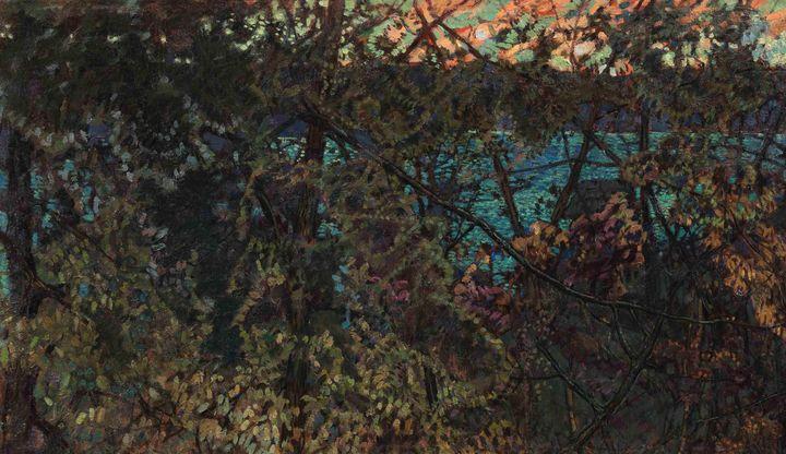 Isaak Brodsky~The Academy Summer Hou - Classical art