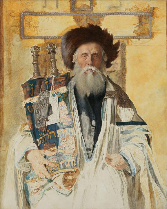 Isidor Kaufmann~Of the High Priest's - Classical art
