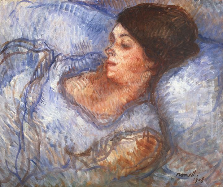 Isidre Nonell~Study - Classical art